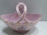 Mini Porcelain bowl - Czech pink porcelain